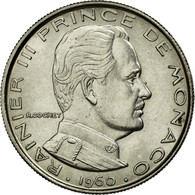 Monnaie, Monaco, Rainier III, Franc, 1960, SUP+, Nickel, KM:140, Gadoury:150 - Monaco