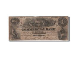 [#44685] Etats-Unis, Obsol�tes, New Jersey, Commercial Bank, 1 Dollar 10.7.1856