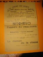 Affiche cin�ma NITCHEVO  L'Agonie du sous-marin