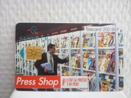 Phonecard Press Shop Used