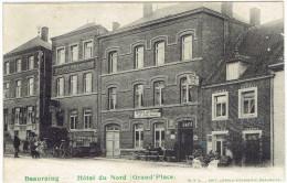 Beauraing Hotel Du Nord (grand Place) Billy Louageur Societe D'harmonie Cabriolet 1907 Légerement Décollée - Beauraing