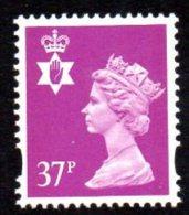 GB N. Ireland 1993-2000 37p Walsall Regional Machin, MNH (SG82) - Regional Issues