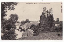 70  AUMONIERES   Ruines De La Chapelle Des Templiers - France