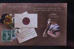 LA CACHET D AMOUR - Cartes Postales