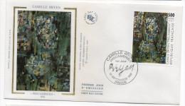 """1987--enveloppe FDC """"Soie"""" -Camille BRYEN--""""Précambrien""""--cachet PARIS--75 - FDC"""