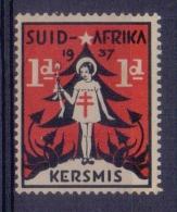 SUID-AFRIKA/SOUTH AFRICA:1937:Vignette/Cinderella:CHRISTMAS,NOËL,CHILD,ENFANT, CHRISTMAS TREE,ARBRE De NOËL,BIENFAISANCE - Non Classés