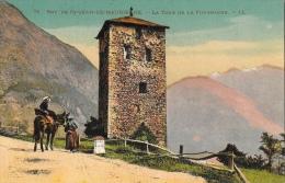 Environ De St-Jean-de-Maurienne - La Tour De La Fournache - Carte LL N°74, Colorisée - Saint Jean De Maurienne