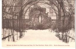 Maison De Santé De Saint-Jean De Dieu, 19 Rue Oudinot, Paris VIIe-Le Jardin-Notre Dame De Lourdes-+/-1920 - Santé, Hôpitaux