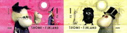 Finland - 2015 - Europa CEPT - Old Toys - Moomin - Mint Self-adhesive Stamp Set - Nuovi