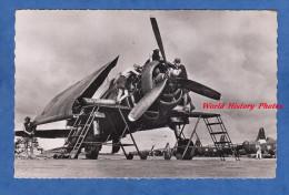 CPSM - SAIGON ? Indochine - Réparation D'un Avion HELLCAT Moteur Hélice - Armée De L´Air Escadrille - Plane Flugzeug - Non Classés