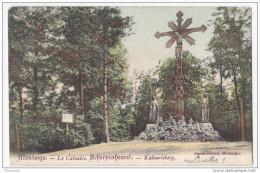 Scherpenheuvel - Montaigu  Cpa   Ingekleurd  Le Calvaire  Verzonden 1903 - Scherpenheuvel-Zichem