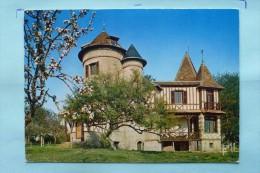 """V08-27-eure-les Manoirs Normands Chateau Des Girouettes--""""""""le Breuil-- - France"""