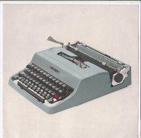C1822 - Brochure MACCHINA DA SCRIVERE OLIVETTI LETTERA 32 - Scienze & Tecnica