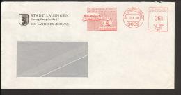 BRD Freistempel 1200 Jahre LAUINGEN (Donau),800 Jahre Stadterhebung,700.Todestag V. Albertus Magnus Von 1980 - BRD