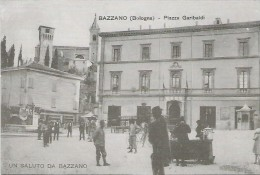 Bazzano, Bologna, Buone Feste 2007, Cartolina Augurale Della Lista Civica Nuova Bazzano, Immagine Inizio ´900 . - Bologna