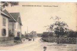 68-M109 - CPA MEYENHEIM - Entrée Par L'Ouest - Autres Communes