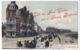 Eastbourne   Nice Vintage Pc  Albion Hotel - Eastbourne