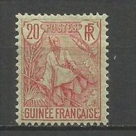 GUINEA FRANCESA YVERT NUM. 24 * - Guinea Francesa (1892-1944)