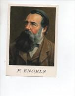 FRIEDRICH  ENGELS  ,  Marxismo , Scienziato , Economista  , Filosofo - Politicians & Soldiers