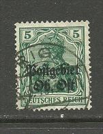 Lettland German Occupation Ober-Ost 1918 Latvia Michel 3 O RIGA - Letland