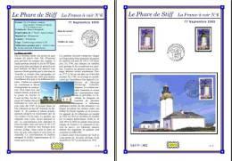 Planche Album Expo : France 2005 : 3822  Phare De Stiff France à Voir N°6 - Afgedrukte Pagina's
