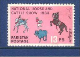 Pakistan 1963  Horse And Cattle Show  13p - Pakistan