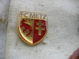 Pin's Football Du FC METZ - Calcio