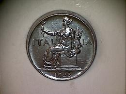 Italie 1 Lira 1928 Buono Da L.1  XF - 1861-1946 : Kingdom