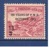 Pakistan 1963 P.W.D. 13p. - Pakistan
