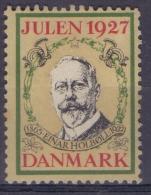 DANMARK:1927: Vignette/Cinderella : CHRISTMAS,NOËL,JULPOST,##Einar HOLBOLL## - Officials