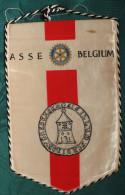 FANION: ASSE - BELGIUM .    ROTARY INTERNATIONAL. - Organisations