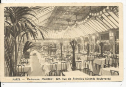 Paris   104  Rue Richelieu  Restaurant Mauber - France
