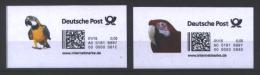 Deutschland 'Internetmarken Papageien' / Germany 'Internet Stamps, Parrots' **/MNH 2015 - Papegaaien, Parkieten