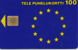 FINLAND PHONECARD HALLO EUROPE  5/95-60000pcs-D71-USED(2)