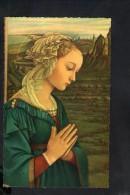 N1102 QUADRO DI FILIPPO LIPPI: VERGINE IN ADORAZIONE - FIRENZE, UFFIZI -  Formato Piccolo - Peinture, Art, Madonna Marie - Quadri, Vetrate E Statue