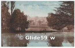 CASSEL - Le Lac Du Château De L'Hamer-Houk - N° 34 (colorisée) - Cassel