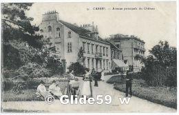 CASSEL - Avenue Principale Du Château (animée) - N° 9 - Cassel