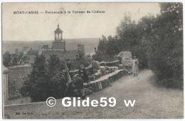 MONT-CASSEL - Promenade à La Terrasse Du Château (animée) - Cassel
