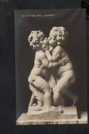 """N1112 Prof. ERNST SEGER, Berlin, """" Biebesfreud""""  - Skulpturen Erster Meister N.  673 - Bambini Enfant Kinder - Scultura - Sculture"""