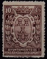 GUERRA CIVIL - PEÑARANDA DE BRACAMONTE - 10 CENTIMOS - *** MNH - Vignetten Van De Burgeroorlog