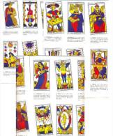 """TAROT CARDS """"VIVIANA""""  ,BIG ARCANA 22 PCS EXCELENT QUALITY RARE YEAR 2003"""