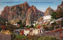 C 12230 - GRIMALDI  VENTIMIGLIA - Italie - Ponté St Lugi - Frontera Italo Francese - Belle CP  - - Italia