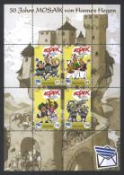 Deutschland Nordkurier Block '50 J. Mosaik' / Germany M/s '50th Ann. Of Mosaik Comics' **/MNH 2005 - Fumetti