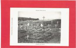 MONTAUVILLE CIMETIERE DU PETANT GUERRE 1914 CARTE EN TRES BON ETAT - Autres Communes
