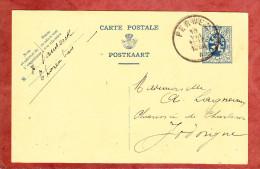 P 142 Wappenloewe, Perwez Nach Jodoigne 1932 (24549) - Ganzsachen