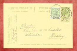 P 51 Wappen + ZF, Leuven Nach Heidelberg 1911 (24554) - Ganzsachen