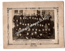 Dept 78 Photo Cdv La  Garancieres Photo D´Ecole De 1921.22 - Photos