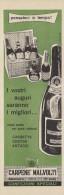 # CARPENE´ MALVOLTI SPUMANTI 1960s Advert Pubblicità Publicitè Reklame Food Drink Liquor Liqueur Licor Alcohol Bebidas - Manifesti