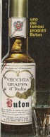 # GRAPPA BUTON 1960s Advert Pubblicità Publicitè Reklame Food Drink Liquor Liquore Liqueur Licor Alcohol Bebidas - Manifesti
