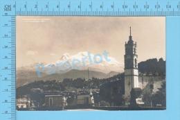 Mexico ( El Volcan Ixtlaccíhuatl  Visto Desde Tlalmanalco, Imagen Real , Photo ) Carte Postale Postcard 2 Scans - Mexique